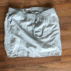 Forever 21 size L linen skirt with pockets